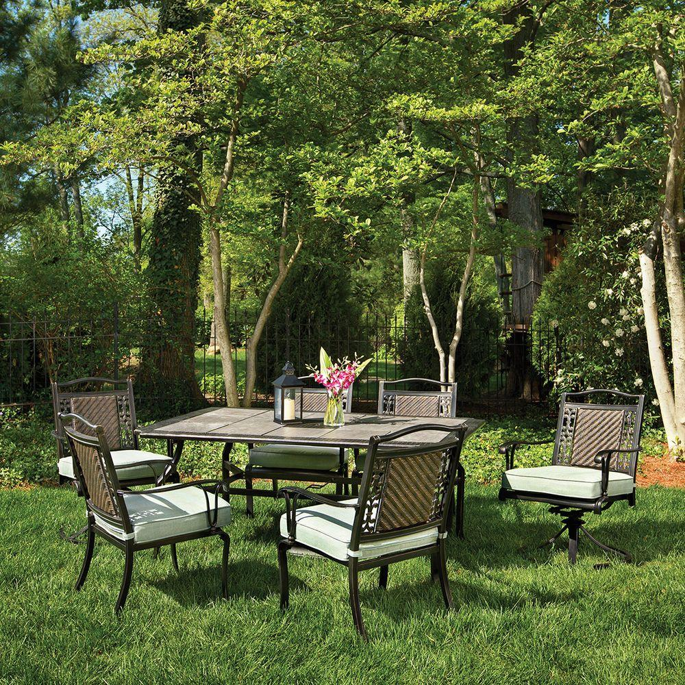 Martha Stewart Living Bellaire 7-Piece Patio Dining Set