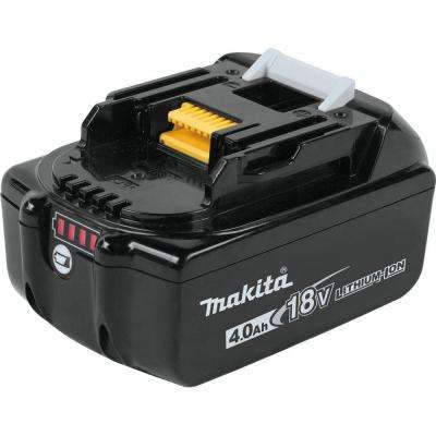 18-Volt LXT Lithium-Ion High Capacity Battery Pack 4.0Ah with Fuel Gauge