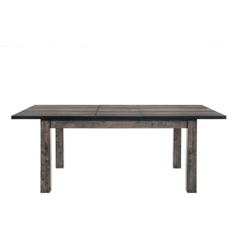 Grayson Rustic Gray Oak Dining Table