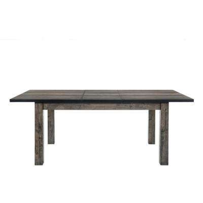 Grayson Rustic Gray Oak Dining Table
