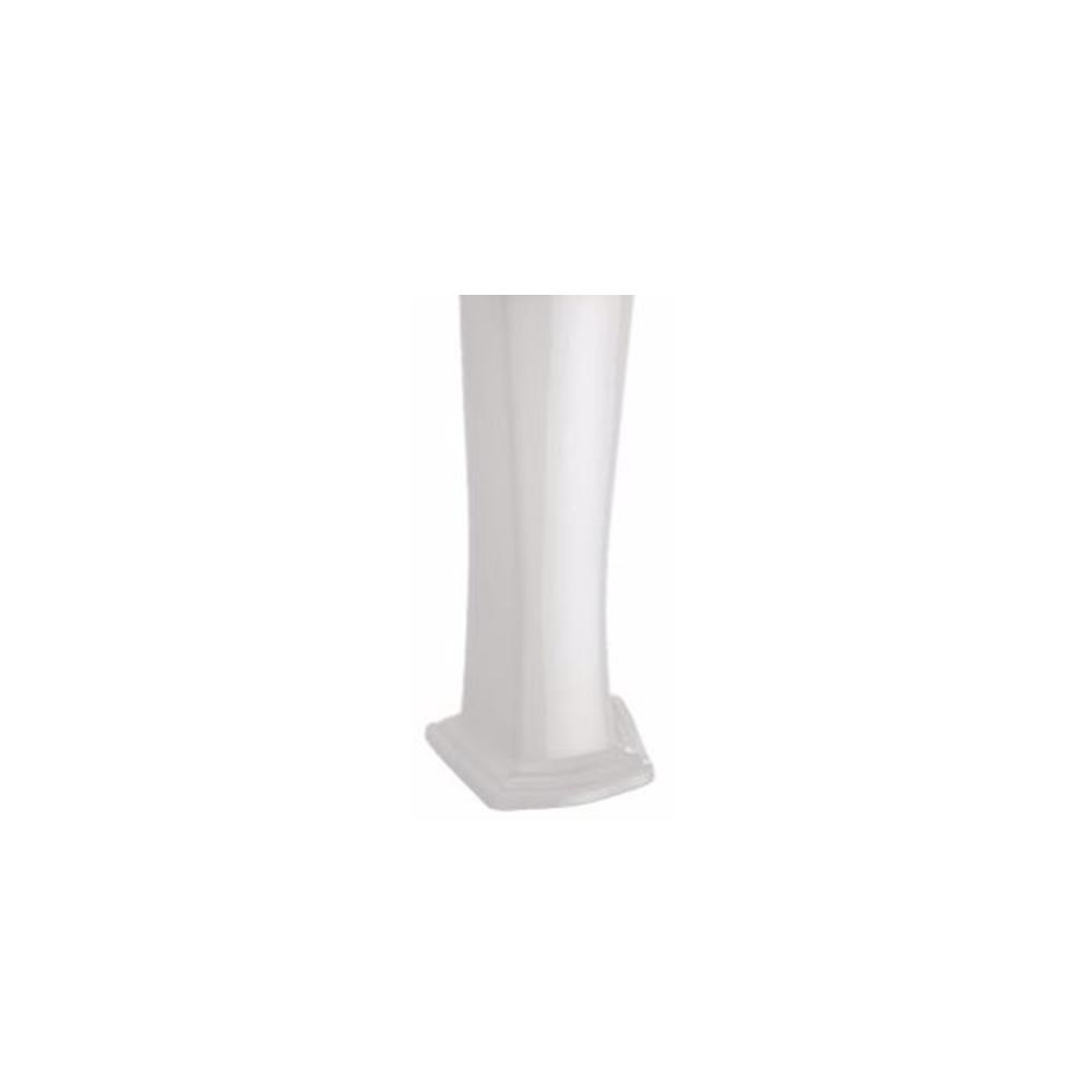 TOTO Clayton Sink Pedestal in Cotton White
