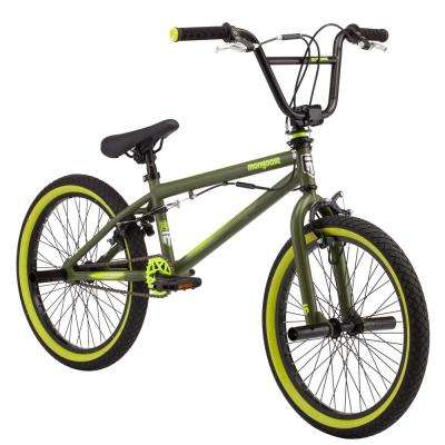 20 in. Boy's Bike for Ages 10-Years and Up in Green
