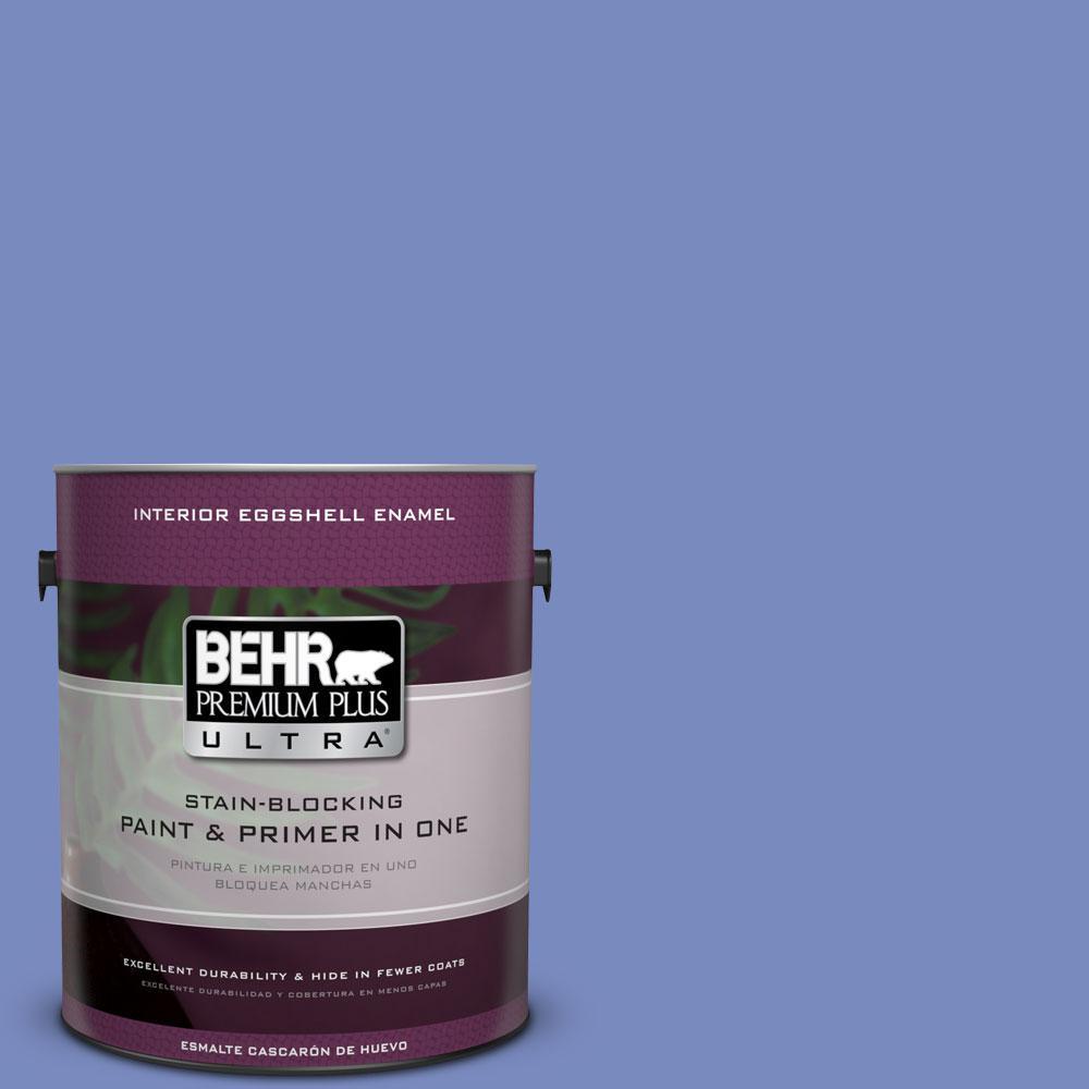BEHR Premium Plus Ultra 1-gal. #600B-5 Larkspur Bouquet Eggshell Enamel Interior Paint