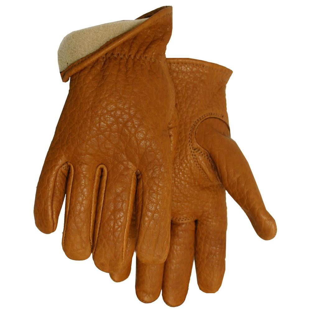 Midwest Gloves & Gear Buffalo Vellux Lined Leather Driver