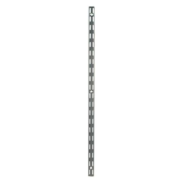 70 in. Steel Twin Track Upright for Wood or Wire Shelving