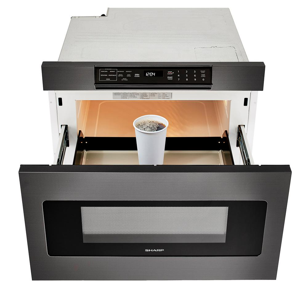 1 2 Cu Ft Built In Microwave Drawer