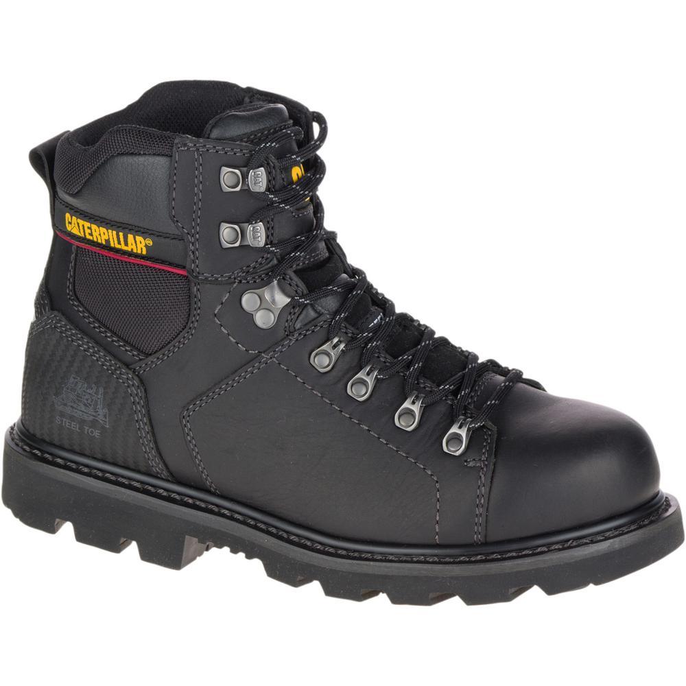 8c3c5be6b1c1be CAT Footwear Alaska 2.0 Men's Size 12M Black Steel Toe Work Boots ...