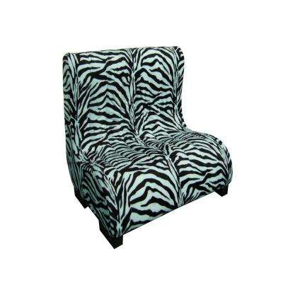 23 in. H Plush Zebra Tufted Upholstery Pet Furniture
