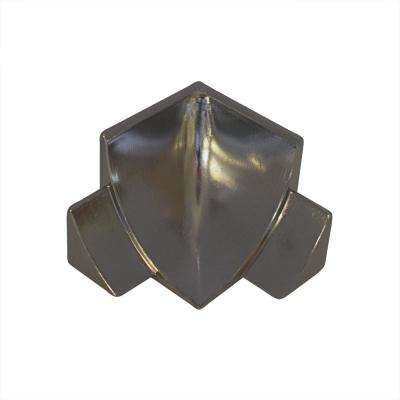 Internal Angle NS4 Natural 1-1/2 in. x 1-1/2 in. Complement Stainless Steel Tile Edging Trim