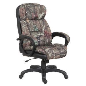 American Furniture Clics Mossy Oak High Back Executive Office Chair 1 843 20 900 The Home Depot