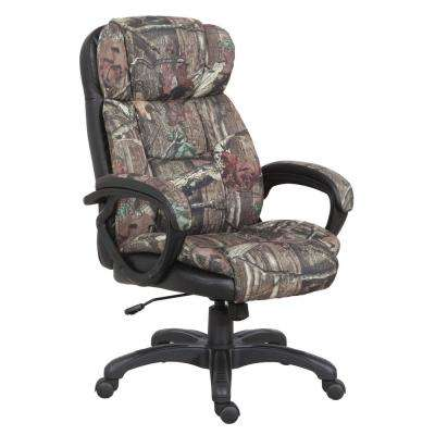 Mossy Oak High Back Executive Office Chair