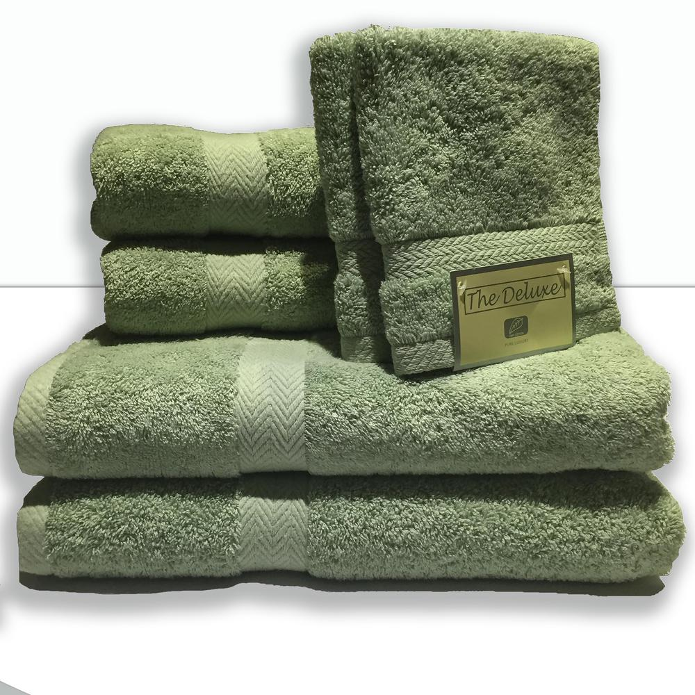 Bath towel sets luxury bath towel collection set ultra for Home spa brand towels