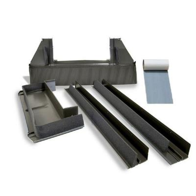 M06 High-Profile Tile Roof Flashing with Adhesive Underlayment for Deck Mount Skylight