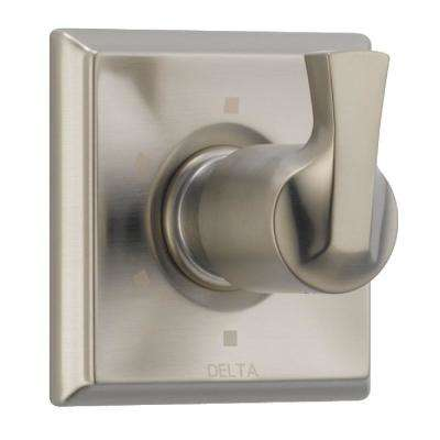 Dryden 1-Handle 6-Setting Diverter Valve Trim Kit in SpotShield Stainless (Valve Not Included)