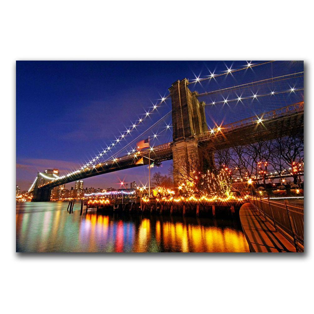 14 in. x 19 in. City of Dreamers Canvas Art