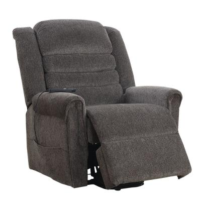 Mandy Gray Chenille Power Assist Recliner
