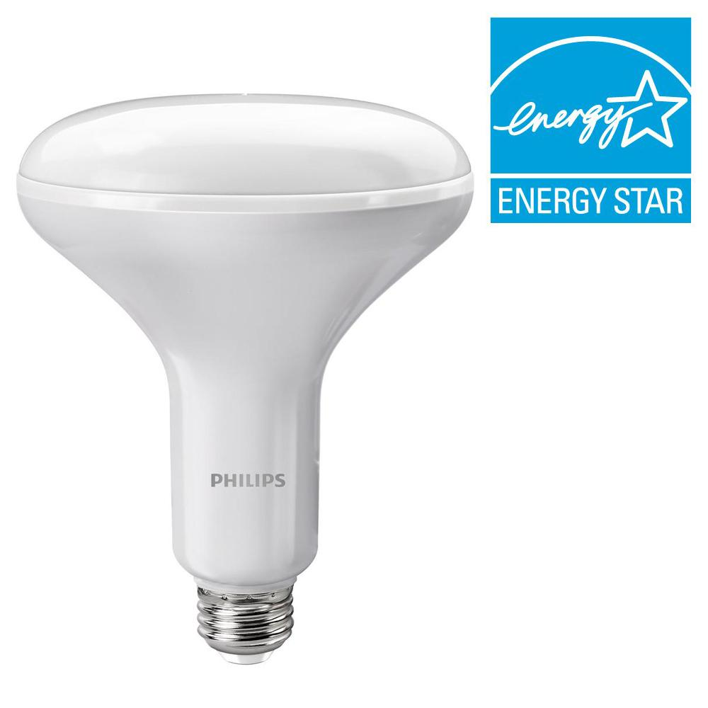 philips 65w equivalent soft white br40 dimmable with warm glow light effect led light bulb e. Black Bedroom Furniture Sets. Home Design Ideas