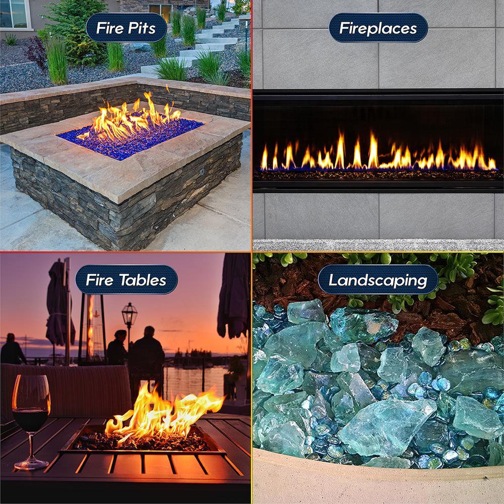 Fire Pit Essentials 1 4 In 10 Lbs Midnight Black Original Fire