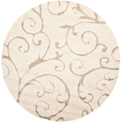 Round Floral Area Rugs Rugs The Home Depot