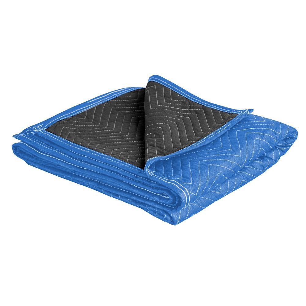 72 in. x 80 in. Reversible Moving Blanket Set (24-Pack)