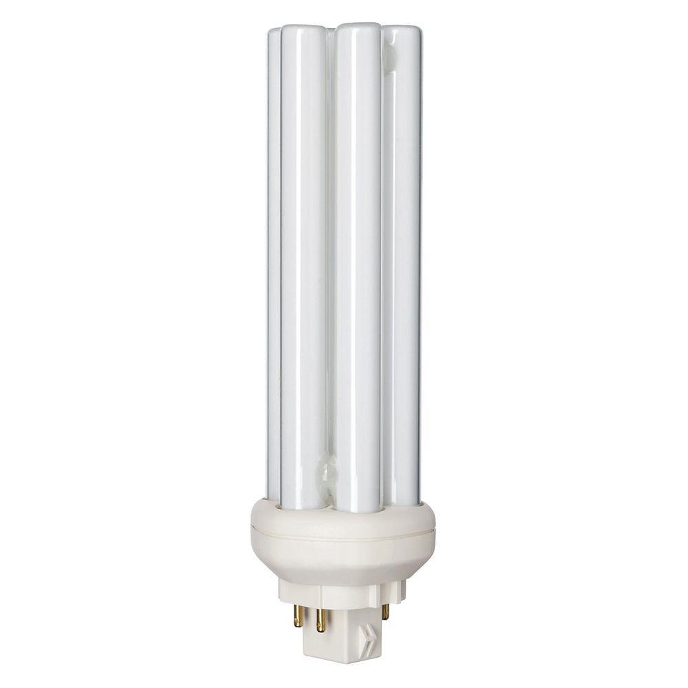 Philips 42-Watt GX24Q-4 4-Pin CFLni Light Bulb Neutral (3...