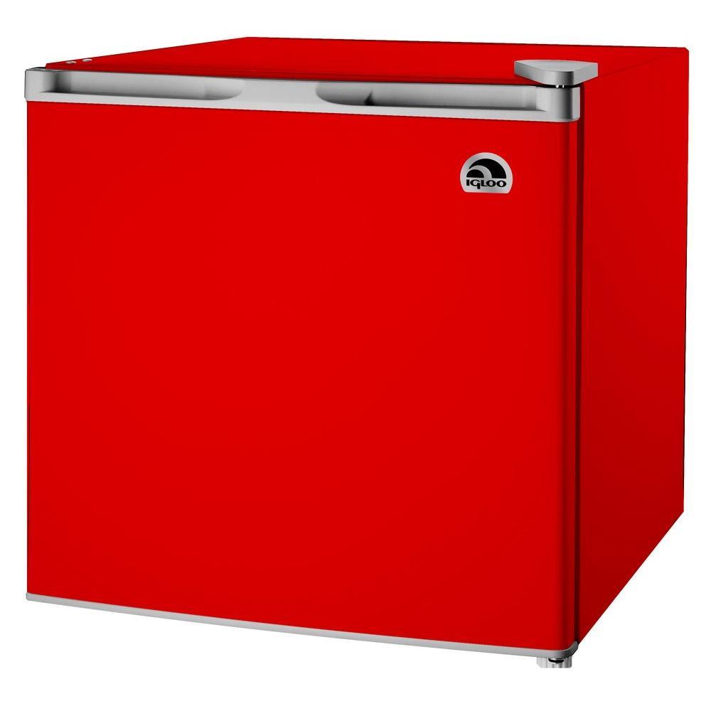 IGLOO 1.6 cu. ft. Mini Refrigerator in Red