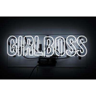 Oliver Gal 'Girl Boss' Plug-in Neon Lighted Sign