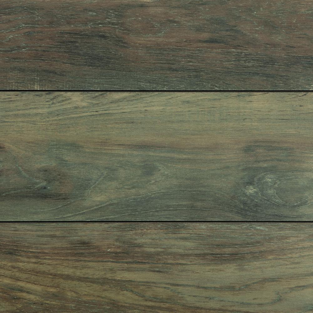 Home Decorators Collection Carmel Coast Teak 12 mm Thick x 7 19/32in. Wide x 50 25/32 in. Length Laminate Flooring (16.08 sq. ft. / case)