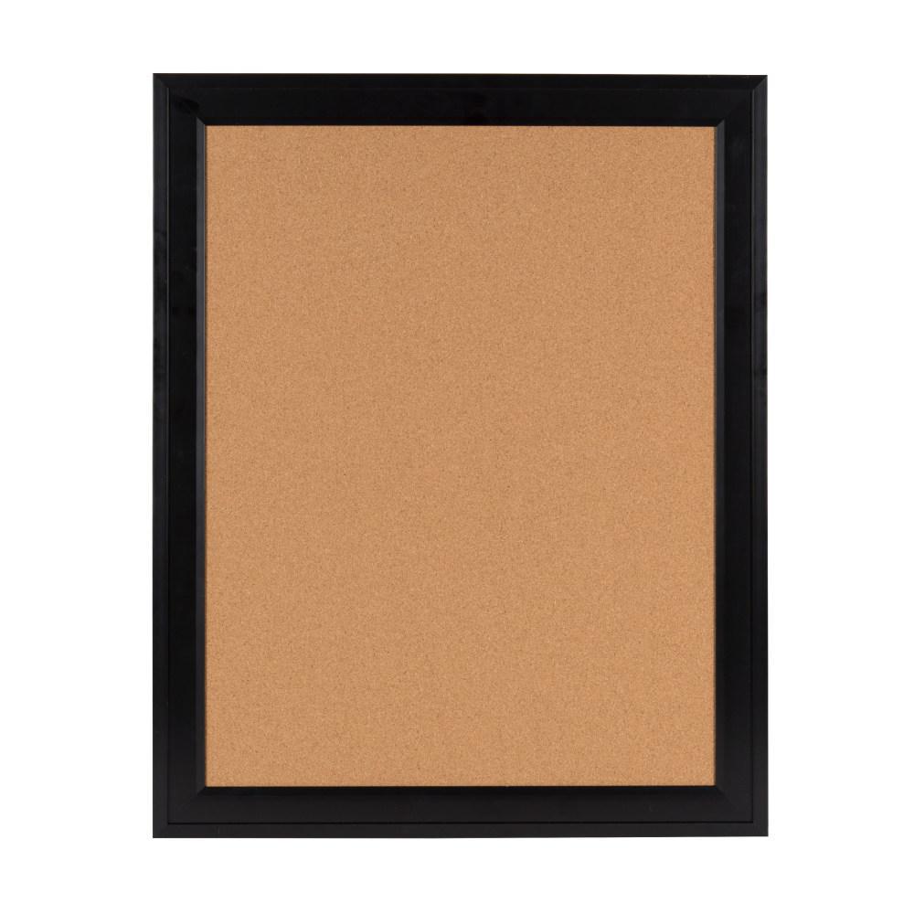 Bosc Black Framed Cork Memo Board