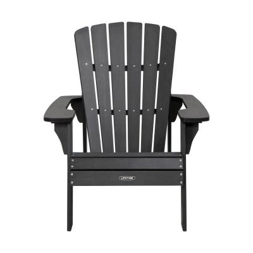 Black Composite Adirondack Chair