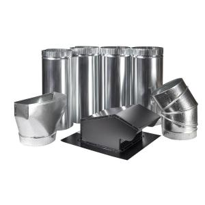 Master Flow 7 inch Appliance Vent Kit - Roof by Master Flow
