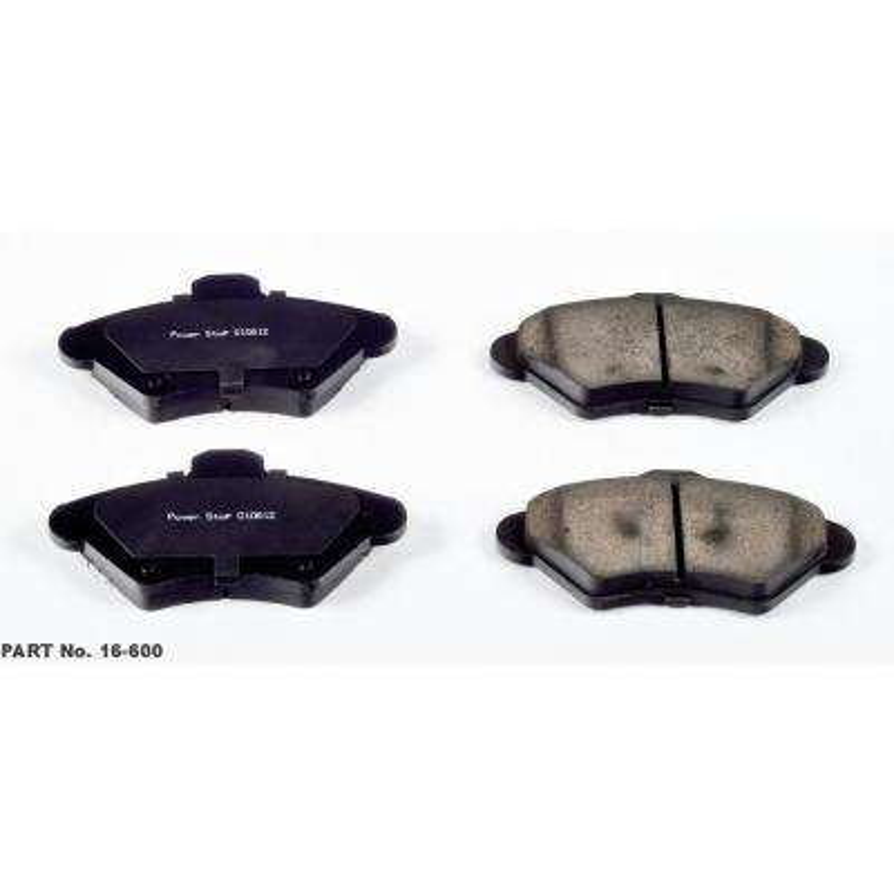 Front Evolution Ceramic Disc Brake Pad fits 1993-1997 Mercury Cougar