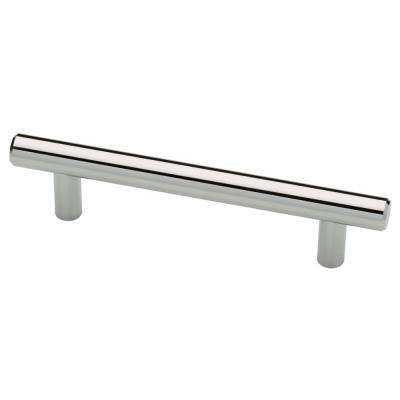 Bon (76mm) Polished Chrome Bar Drawer Pull
