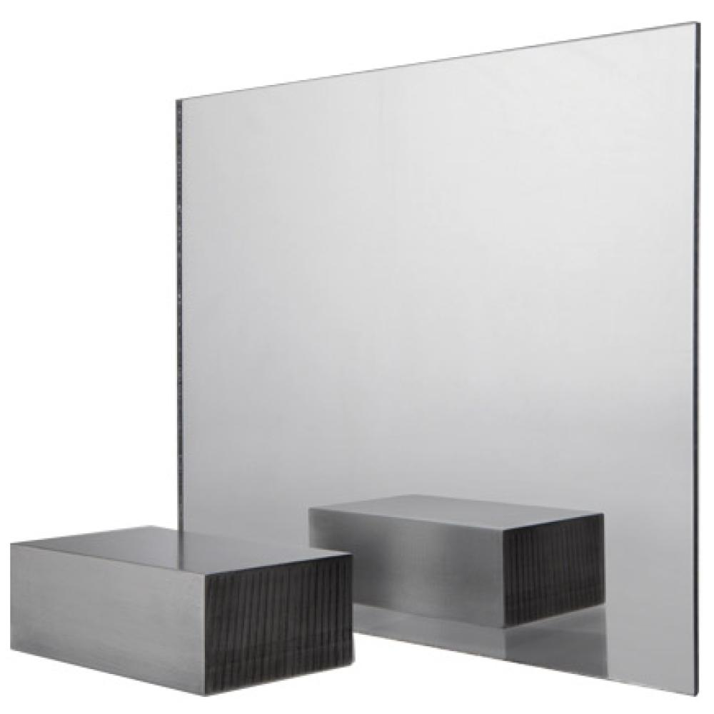 FABBACK 36 in  x 48 in  Acrylic Mirror 5-Sheet Contractor Value Pack