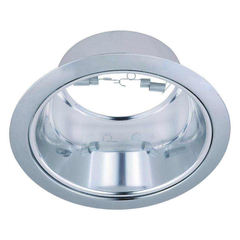 Elegant lighting 6 in line voltage recessed chrome reflector with elegant lighting 6 in line voltage recessed chrome reflector with chrome trim ring arubaitofo Image collections