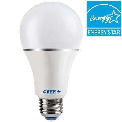 30/60/100W Equivalent Soft White (2700K) A21 3-Way LED Light Bulb