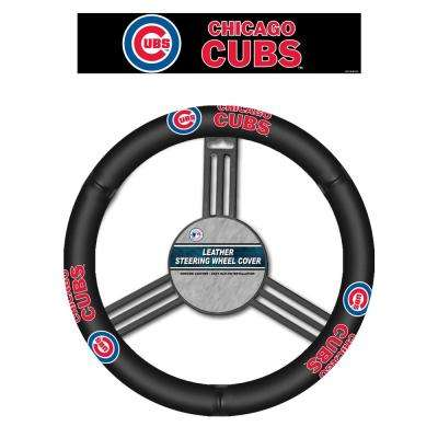 MLB Chicago Cubs Leather Steering Wheel Cover