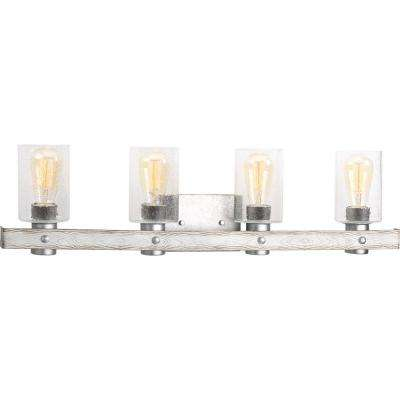 Gulliver 4-Light Galvanized Bath Light