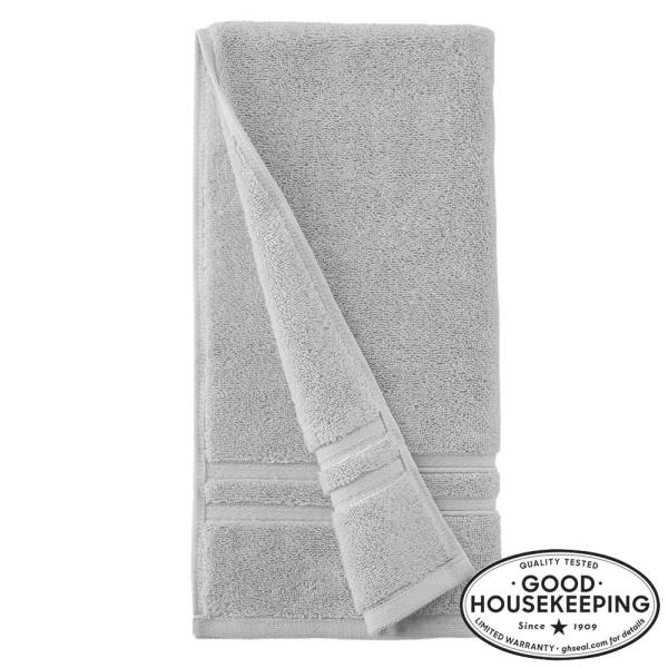 Turkish Cotton Ultra Soft Hand Towel in Shadow Gray