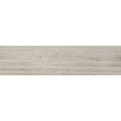 Gray Oak 6 in. x 24 in. Honed Marble Floor and Wall Tile (10 sq. ft. / case)