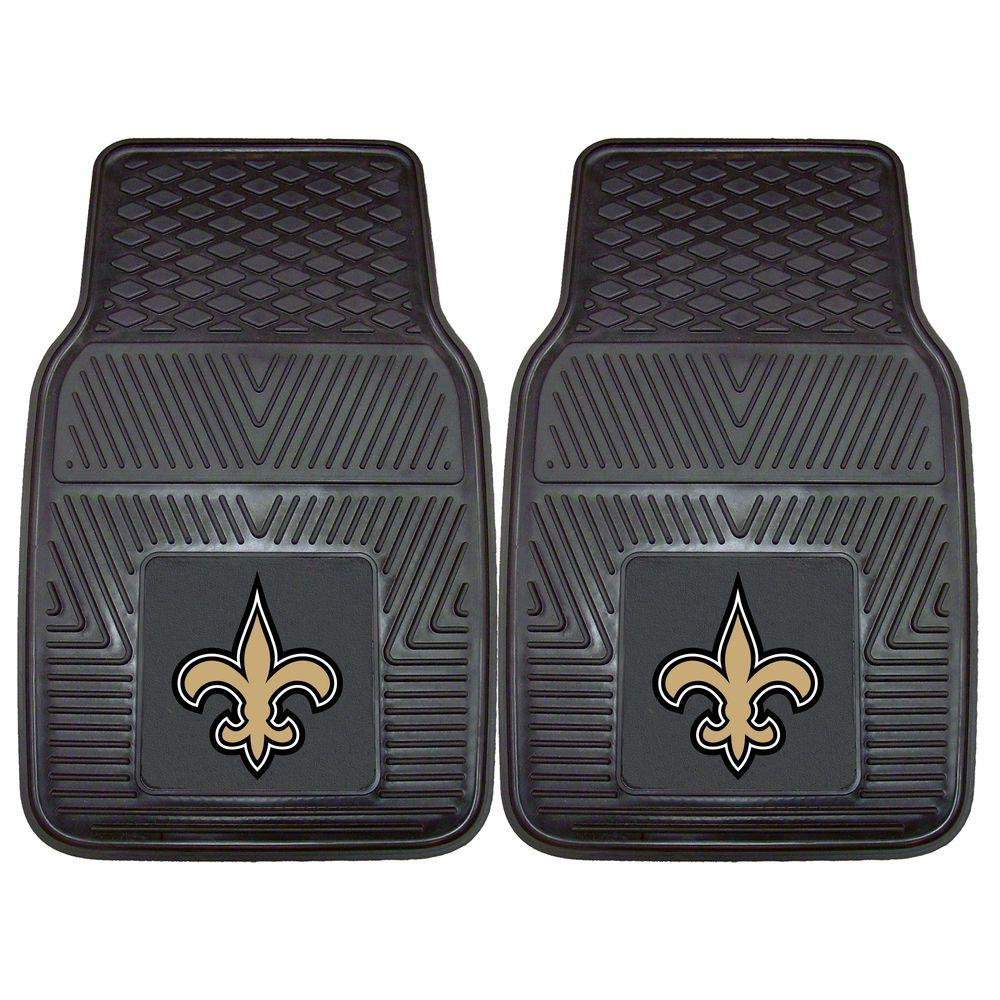 New Orleans Saints 18 in. x 27 in. 2-Piece Heavy Duty