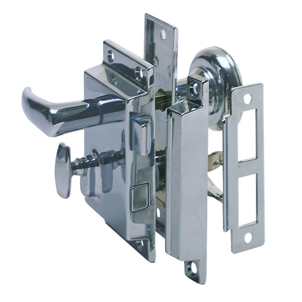 Rim Lock Set Regular Bevel