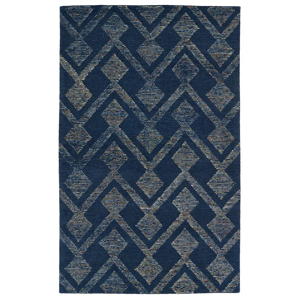 Evanesce Navy 3 ft. 6 in. x 5 ft. 6 in.