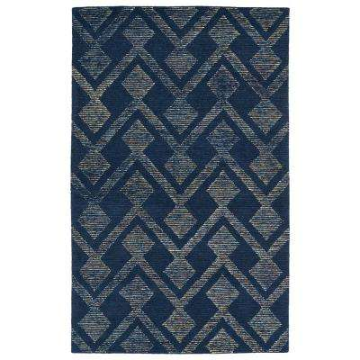 Evanesce Navy 8 ft. x 10 ft. Area Rug