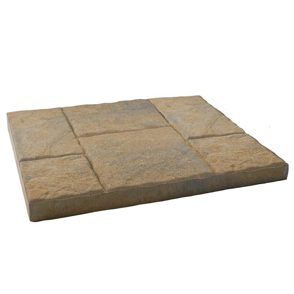 16 in x 24 in. Ashlar Summit Blend Slate Step Stone