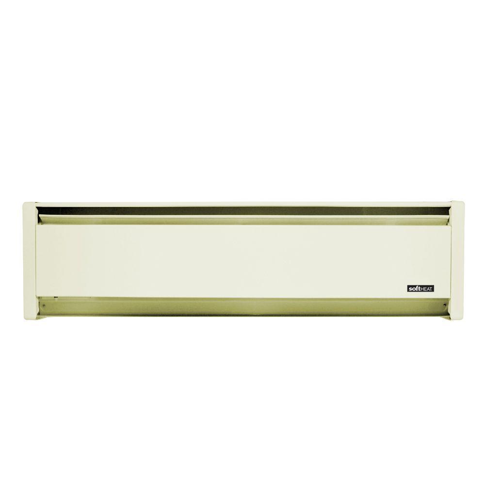 SoftHeat 71 in. 1,250-Watt 120-Volt Hydronic Electric Baseboard Heater