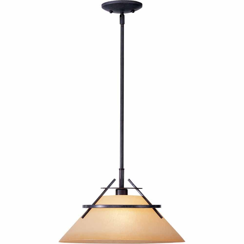 Filament Design Lenor 1-Light Frontier Iron Incandescent Ceiling Pendant