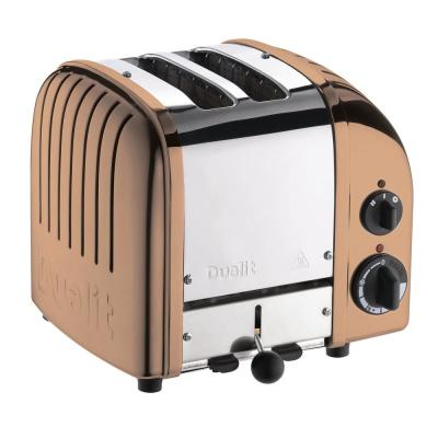 Dualit-New Gen 2-Slice Copper Wide Slot Toaster with Crumb Tray