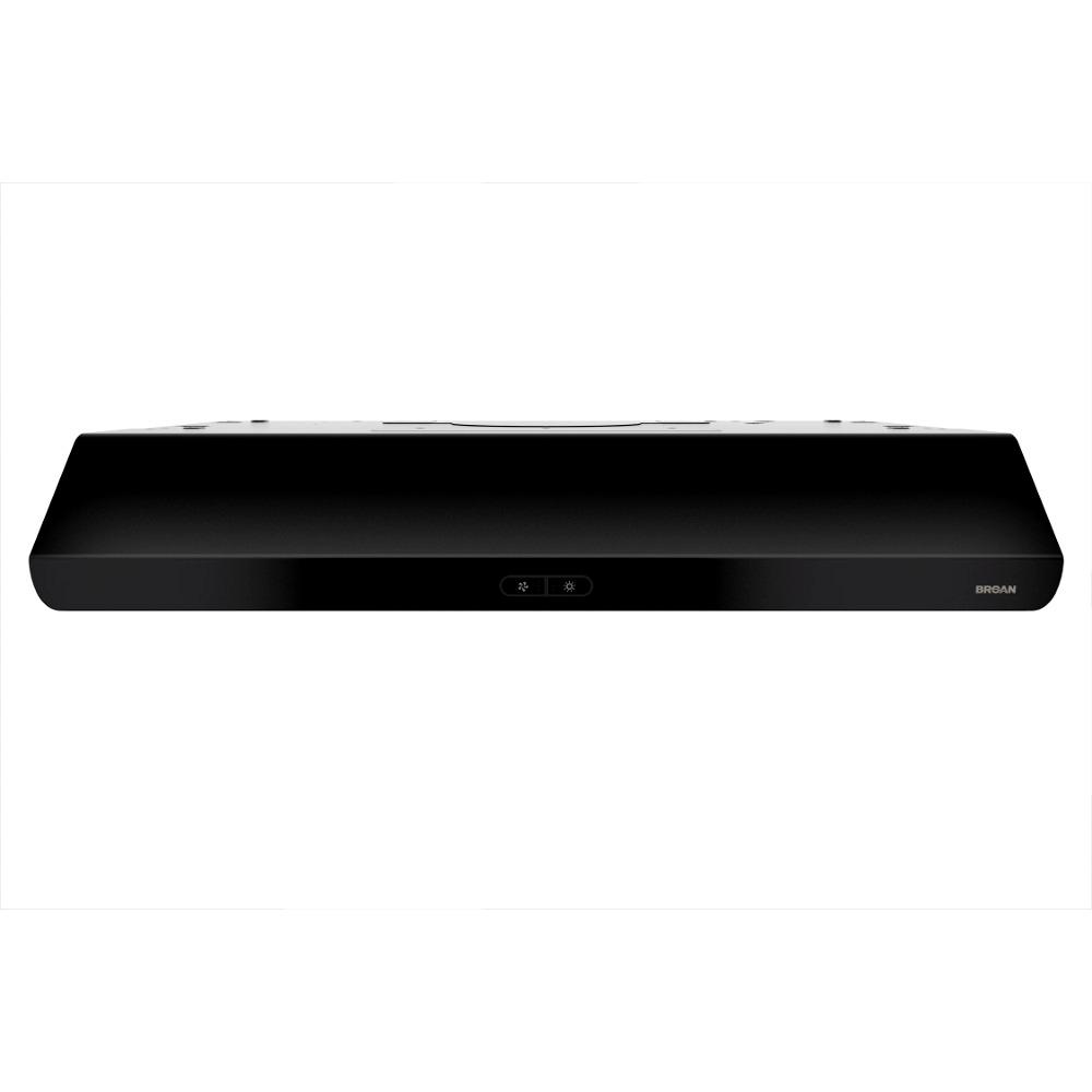 Sahale Deluxe 36 in. Convertible Range Hood in Black