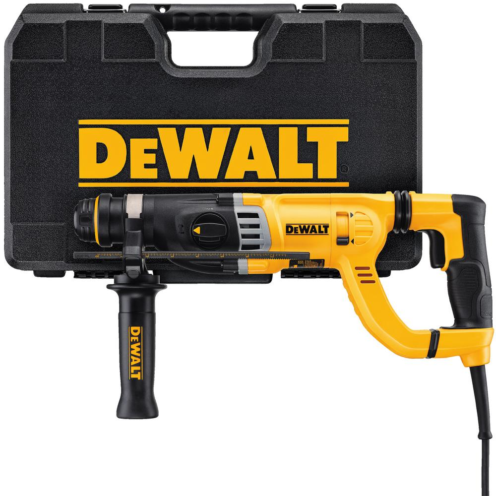 8.5 Amp 1-1/8 in. Corded SDS-plus D-Handle Concrete/Masonry Rotary Hammer Drill